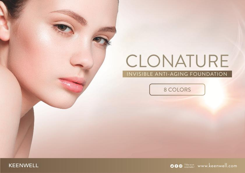 Clonature-invisible-anti-aging-foundation-keenwell-international-SP